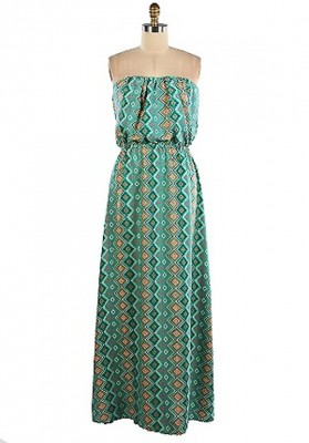How To Get People To Like Tribal Print Maxi Dress