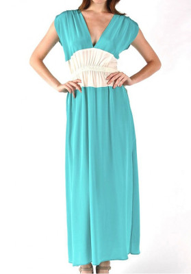 Chiffon Maxi Dress Perfect For Holidays
