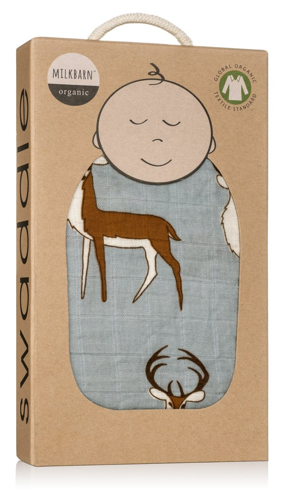 Organics Woodland Blanket – Taupe Deer